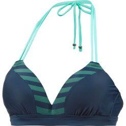Stroje dwuczęściowe damskie: Biustonosz bikini w kolorze granatowo-morskim