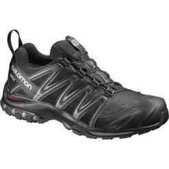 Salomon Buty Trekkingowe Xa Pro 3d Gtx Black/Black/Magnet 46.7. Czarne buty trekkingowe męskie marki Salomon, z gore-texu, na sznurówki, outdoorowe, gore-tex. W wyprzedaży za 479,00 zł.