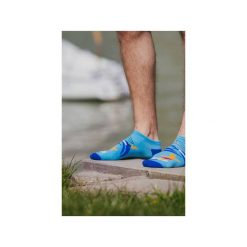 Skarpetki damskie: Stopki Na fali – kolorowe skarpetki Spox Sox