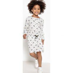 Sukienki dziewczęce: Sukienka z kwiatowym nadrukiem 3-12 lat