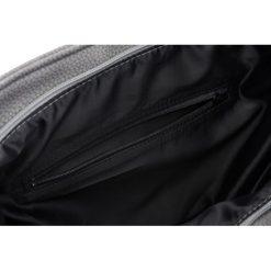 DAMSKA TOREBKA MILTON  JASNY SZARY PALOMA. Szare torebki worki Milton, w paski, ze skóry, zdobione. Za 129,00 zł.