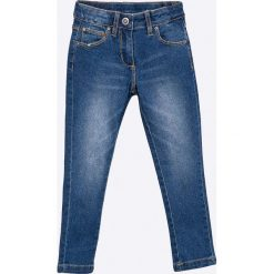 Blukids - Jeansy dziecięce 98-128 cm. Niebieskie jeansy dziewczęce Blukids, z bawełny. Za 59,90 zł.