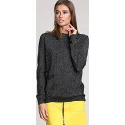Czarny Sweter All About Love. Czarne swetry klasyczne damskie other, na jesień, l. Za 74,99 zł.