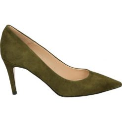 Czółenka - 0954 CAM OLIV. Brązowe buty ślubne damskie Venezia, ze skóry. Za 349,00 zł.