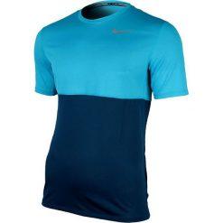 Nike Koszulka Racer Short-Sleeve granatowa r. S (644396 496). Niebieskie t-shirty męskie Nike, m. Za 79,00 zł.
