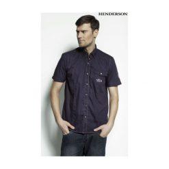 Koszula Ozone 31070 -59X. Niebieskie koszule męskie na spinki Henderson, m, z krótkim rękawem. Za 69,90 zł.