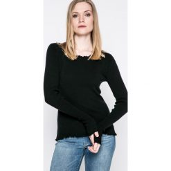 Review - Sweter. Szare swetry klasyczne damskie Review, l, z dzianiny, z dekoltem w łódkę. Za 129,90 zł.