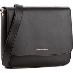 Torebka EMPORIO ARMANI - Y3B082 YH23A 80001 Black. Szare torebki klasyczne damskie marki Emporio Armani, l, z nadrukiem, z bawełny, z okrągłym kołnierzem. Za 639,00 zł.