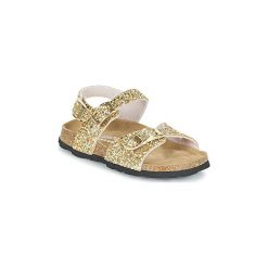 Sandały Dziecko  Ganadora  JEANNE. Żółte sandały dziewczęce marki Ganadora. Za 167,20 zł.