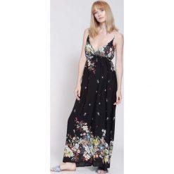 Sukienki: Czarna Sukienka Mexican Summer