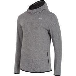 Bluzy męskie: Bluza treningowa męska BLMF003 – ciepły jasny szary