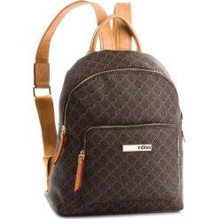 Plecak NOBO - NBAG-F2280-C017 Brązowy. Brązowe plecaki damskie marki Nobo, ze skóry ekologicznej, klasyczne. W wyprzedaży za 169,00 zł.