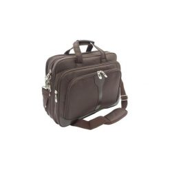 Torba na laptop notebook 15,6 GALO 628 brązowa. Brązowe torby na laptopa marki GALO, w paski. Za 129,00 zł.