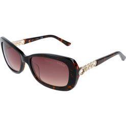 """Okulary przeciwsłoneczne damskie: Okulary przeciwsłoneczne """"GU7453-F"""" w kolorze brązowo-złotym"""
