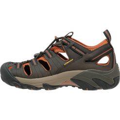 Keen ARROYO II Sandały trekkingowe black olive/bombay brown. Brązowe sandały męskie skórzane Keen. Za 499,00 zł.