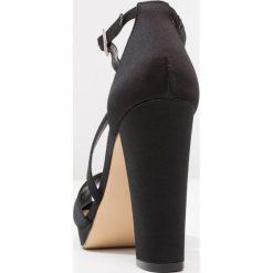 Rzymianki damskie: Nina Shoes MARYLIN Sandały na obcasie black luster