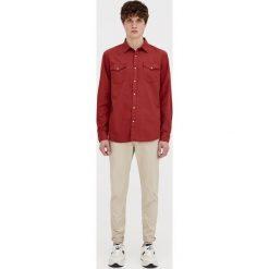 Chinosy męskie: Spodnie typu chinos z paskiem
