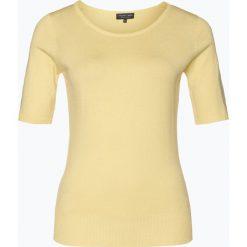 Marie Lund - Sweter damski, żółty. Żółte swetry klasyczne damskie Marie Lund, s, z dzianiny. Za 129,95 zł.