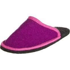 """Kapcie damskie: Kapcie """"Helli Lipstick"""" w kolorze fioletowo-różowym"""