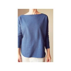 Lekka bluza kimonocięta jeans. Niebieskie bluzy damskie One mug a day, z bawełny. Za 169,00 zł.