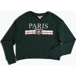 Review - Dziewczęca koszulka z długim rękawem, zielony. Białe bluzki dziewczęce bawełniane marki FOUGANZA. Za 59,95 zł.