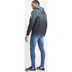 Bejsbolówki męskie: Burton Menswear London MARBLE HOOD  Bluza z kapturem black