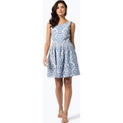 Marie Lund - Sukienka damska, niebieski. Niebieskie sukienki Marie Lund, z żakardem. Za 299,95 zł.