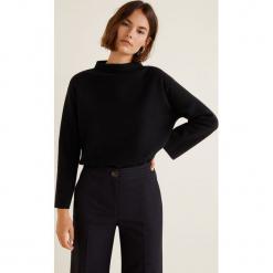 Mango - Sweter Fleary. Czarne swetry klasyczne damskie Mango, l, z dzianiny. Za 119,90 zł.