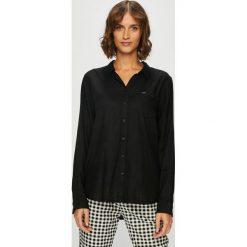 Lee - Koszula. Czarne koszule damskie Lee, l, z materiału, z długim rękawem. Za 199,90 zł.
