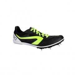 Buty do biegania AT MID. Czarne buty do biegania męskie marki KALENJI, z poliesteru. Za 219,99 zł.