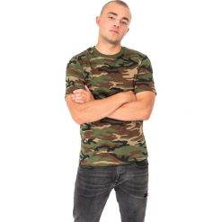 Mil-Tec Koszulka męska Tarn Mil-Tec Woodland zielona r. XL. Zielone t-shirty męskie Mil-Tec, m. Za 36,89 zł.
