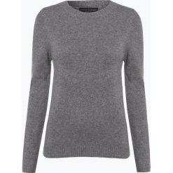 Franco Callegari - Damski sweter z wełny merino, szary. Zielone swetry klasyczne damskie marki Franco Callegari, z napisami. Za 229,95 zł.