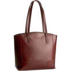 Torebka CREOLE - K10307  Średni Brąz. Brązowe torebki klasyczne damskie Creole, ze skóry, duże. W wyprzedaży za 259,00 zł.
