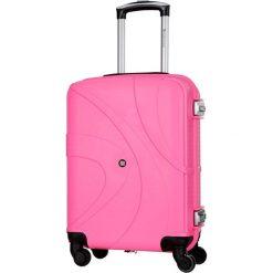 Walizki: Walizka w kolorze różowym – 39 l