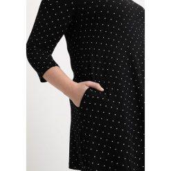 Bluzki asymetryczne: Evans SPOT  Bluzka z długim rękawem black