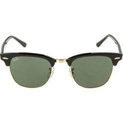 RayBan CLUBMASTER Okulary przeciwsłoneczne schwarz/goldfarben. Czarne okulary przeciwsłoneczne damskie clubmaster Ray-Ban. Za 779,00 zł.