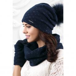 Czapka damska Fiuggi. Czarne czapki zimowe damskie Astratex, z polaru. Za 82,99 zł.