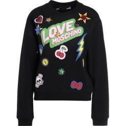 Odzież damska: Love Moschino Bluza black
