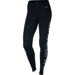 Legginsy sportowe damskie: Nike Legginsy Dry Tight DFC GPX czarny r. L (830558 010)