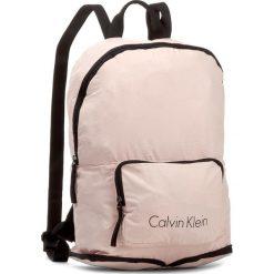 Plecak CALVIN KLEIN BLACK LABEL - Ck Packable Backpack K40K400006  622. Czarne plecaki męskie marki Calvin Klein Black Label. W wyprzedaży za 269,00 zł.