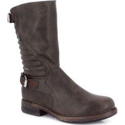 """Buty zimowe damskie: Kozaki """"Sohane"""" w kolorze brązowym"""