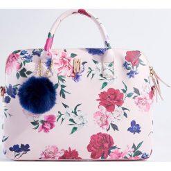 Torby na laptopa: Torba na laptopa w kwiaty - Wielobarwn