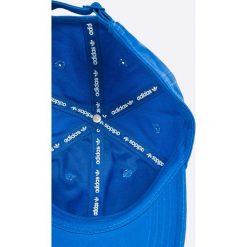 Adidas Originals - Czapka Trefoil Cap. Niebieskie czapki męskie adidas Originals. W wyprzedaży za 59,90 zł.