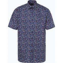 OLYMP Luxor modern Fit - Koszula męska niewymagająca prasowania, niebieski. Niebieskie koszule męskie na spinki marki OLYMP Luxor modern Fit, m. Za 149,95 zł.