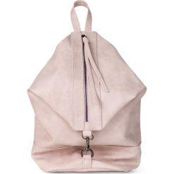 Plecak z oksydowanymi zamkami bonprix stary jasnoróżowy. Czerwone plecaki damskie bonprix, retro. Za 99,99 zł.