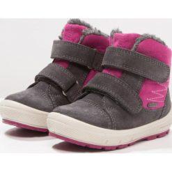 Superfit GROOVY Śniegowce stone. Szare buty zimowe damskie marki Superfit, z materiału. W wyprzedaży za 239,25 zł.