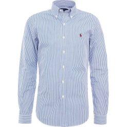 Polo Ralph Lauren SLIM FIT Koszula blue/white. Szare koszule męskie slim marki Polo Ralph Lauren, l, z bawełny, button down, z długim rękawem. Za 459,00 zł.