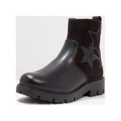 Gioseppo Botki black. Czarne buty zimowe damskie Gioseppo, z materiału. W wyprzedaży za 171,75 zł.