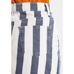 Spódniczki: Topshop STRIPE SKIRT Spódnica trapezowa ecru