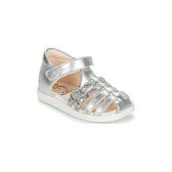 Sandały Dziecko  Shoo Pom  PIKA SPART. Czerwone sandały dziewczęce marki Born2be, z materiału, z otwartym noskiem, na zamek. Za 231,20 zł.